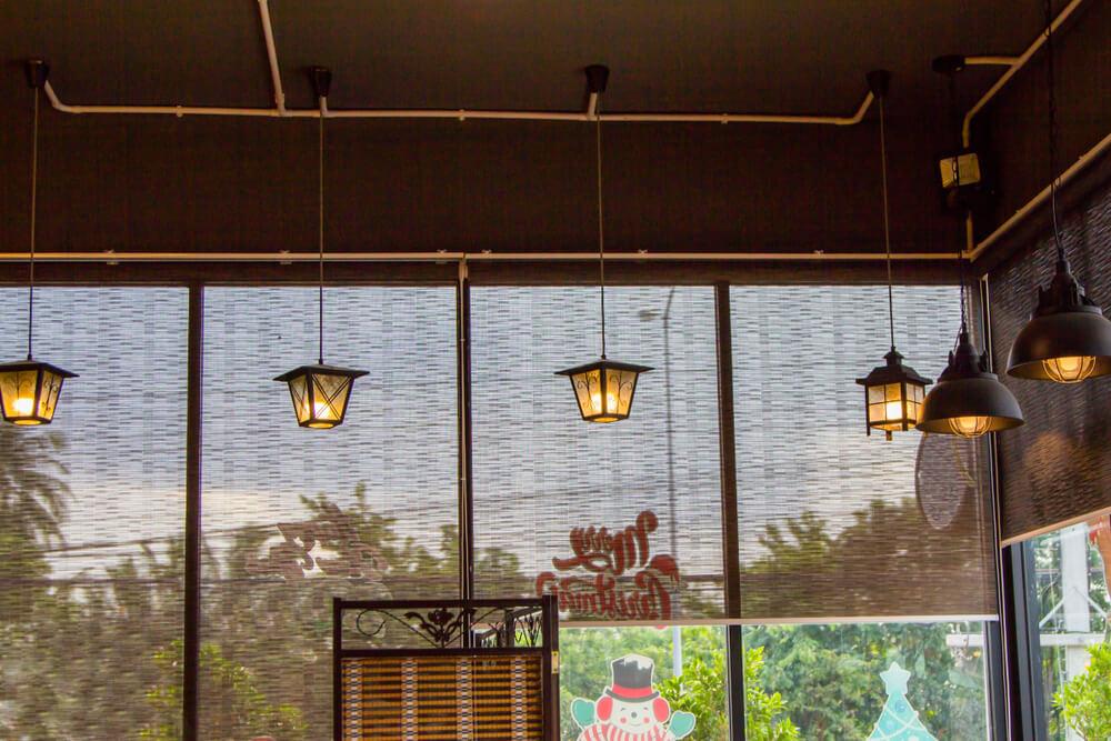 וילונות למסעדות ובתי קפה #11