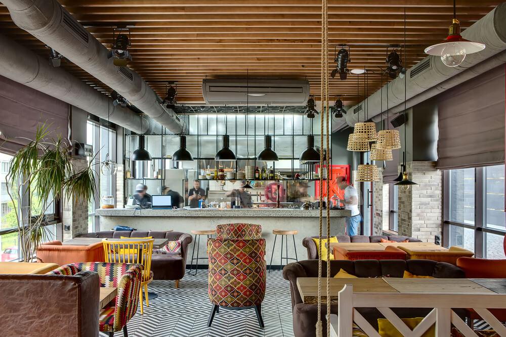 וילונות למסעדות ובתי קפה #3